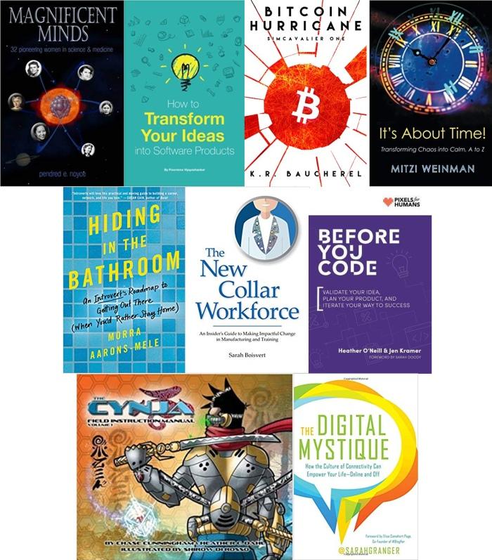 Techie Books (005) collage